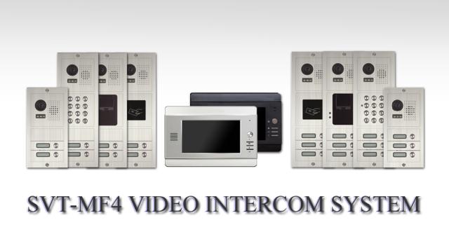 4 wire video intercom system svt mf4 svt innovations
