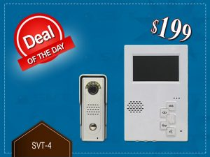 Deal of the Day - Video Intercom System